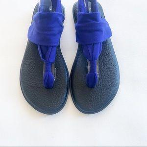 Sanuk Shoes - Sanuk Royal Purple Yoga Sling Sandals 8